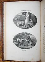 1793 Fables John GAY With Life of the Author Illustrated a Plate to Each Fable