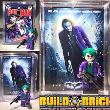 Dark Knight Batman - Joker Custom Mini Action Figure w Display Case Mini-figure