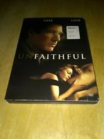 Preowned Unfaithful Full Screen Edition 2002 Richard Gere Diane Lane Oliver