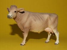 23) Schleich Schleichtier - Braunvieh braune Kuh aus Set Futtersilo 41429