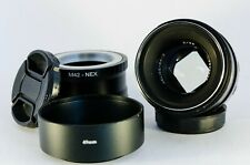Helios 44-2 58mm lens with square bokeh for Sony E Mount cameras