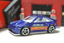 Hot Wheels Loose - '85 Honda CR-X - Blue - 1:64