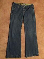 Womens MISS ME Sz 28 #JP4480 Geneva Bootcut Flared Floral Waist Jeans . EUC
