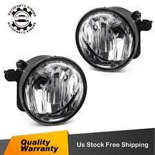 for 2004 2005 2006 Chevy Suburban Tahoe Z71 Clear Bumper Fog Light Lamps w/Bulbs