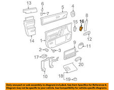 VW VOLKSWAGEN OEM 98-10 Beetle Door-Lock Switch 1C096212501C