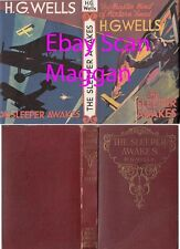 H G Wells  THE SLEEPER AWAKES  rpt w/fdj 1928