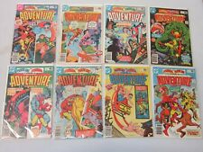 Starman and Plasticman Adventure Comics #467-474 8 Different Books 8.0 VF (1980)
