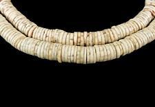 Ostrich Egg Shell Heishi Trade Beads Africa