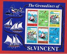 St. Vincent #329a   MNH OG  Sheet  of 6  Tourist Issue   Free S/H