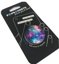 AUTHENTIC PopSockets Phone Grip BLUE NEBULA PopSocket Universal Phone Holder
