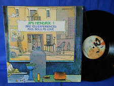 JIMI HENDRIX EXPERIENCED/AXIS 2LP BARCLAY 80581/2 VERY FIRST PRESS SUPERB EXC+
