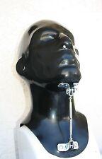 schwere Latexmaske, Schnürung, Latex-Maske, rubber mask
