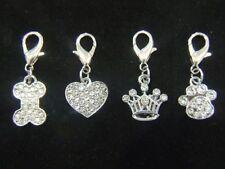 Dog Rhinestone/Diamante Tags & Charms