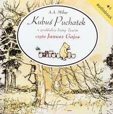 Kubus Puchatek audiobook CD mp3 polska, polish, bajka po polsku Poland