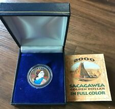 Sacagawea Golder Dollar in Full Color (2000)