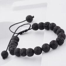 All Natural Spiritual Lava Rock Healing Yoga Diffuser Stretch Bracelet Gifts New