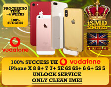 UNLOCK UK GB ENGLAND VODAFONE IPHONE X 8 8+ 7 7+ SE 6S 6 UNLOCKING IMEI SERVICE