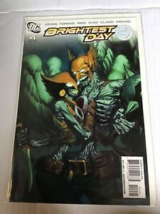 BRIGHTEST DAY # 4 VARIANT EDITION FIRST PRINT DC COMICS