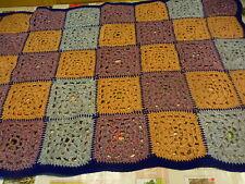 joli plaid vintage ,laine ,tres bon état bords parme 1m,10x0 70;fauteuil,canapé