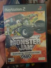 Monster Jam - Maximum Destruction (no booklet) - PLAYSTATION 2 PS2  - FREE POST