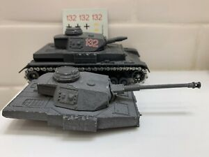 Solido Char PZ IV Panzer Tank Ausf D F1 F2 G Wwii Ww2 German 1/50 Bolt Action