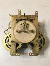 Antique Gilbert Open Escapement Mantle Clock Movement