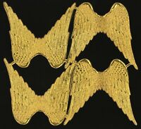 alter Bogen 4 Paar Engelsflügel Dresdner Pappe - DIE CUT SCRAPS