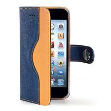 Celly Blue Yellow Wallet Onda Case iPh 6
