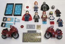 Genuine Lego MARVEL SUPER HEROES Bundle - Avengers Iron Man Legion Zod Lois Lane