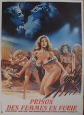 WOMEN IN FURY - SEXY NAKED WOMEN / XRATED / CARVALHO - ORIGINAL MOVIE POSTER
