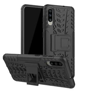 For Samsung S8 S9 + S10 S10+ A40  Case Heavy Duty Armour Shock Proof Stand Cover