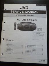 Original Service Manual  JVC RC-Q50