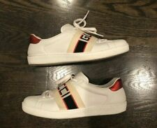 Men's Gucci Ace Stripe White sneaker Gucci 7.5 (US 8.5) Used Authentic Shoes