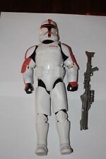 "Clone Trooper Captain Red 12"" Figure-Hasbro-Star Wars 1/6 Customize Side Show"