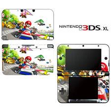 Vinyl Skin Decal Cover for Nintendo 3DS XL LL - Super Mario Kart