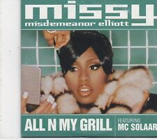 Missy Elliot-All N My Grill cd single