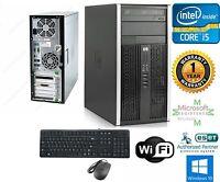HP 8200 Tower Computer Intel I5 3.1GHz 8GB 120gb SSD +1TB HD Storage Windows 10