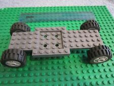 Lego 16 x 6 Vehicle Car / Truck Long Base Technic GREY Chassis Large 30.4 Wheels