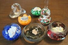 Sebastian Miniature Owa-019-025 Midwest Fair Glass Paperweight 1994-2000 Choice