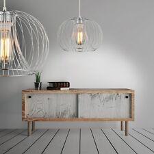 Design Pendelleuchte Leuchte Hängeleuchte Chrom Pendellampe Lampe Hängelampe NEU