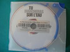 DVD  boitier slim TU MARCHERAS SUR L EAU (b25)
