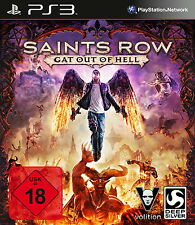 Ps3/Sony PlayStation 3 juego-Saints Row Gat out of Hell (con embalaje original) (usk18)