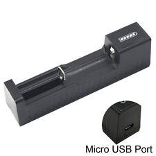 USB Port Universal Battery Charger For 3.7V 18650 26650 14500 Li-ion Battery RS
