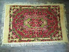New Vintage Wedding Velvet Bedspread Floral tablecloth Bohemian Italian Blanket