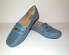 Life Stride new Memory Foam Loafers sz 9.5 M VIVA Blue Slip On Shoes Velocity