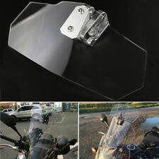 For BMW R1100S Clear All Years Clip On Deflector Windshield Windscreen Spoiler