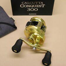 Shimano Calcutta Conquest 300 Round Baitcast Reel 6.2:1 Model CTCNQ300A