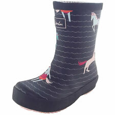 Tom Joule Printed Baby Wellies Mädchen Gummistiefel french navy sea pony