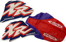 SEAT COVER & TANK DECALS For HONDA XR250R, XR 250R xr250 1996 FREE Fast SHIPPING