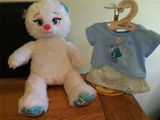 Build a Bear Factory Adorable Disney Frozen Elsa entièrement neuf sans étiquette & Tenue BNWT
